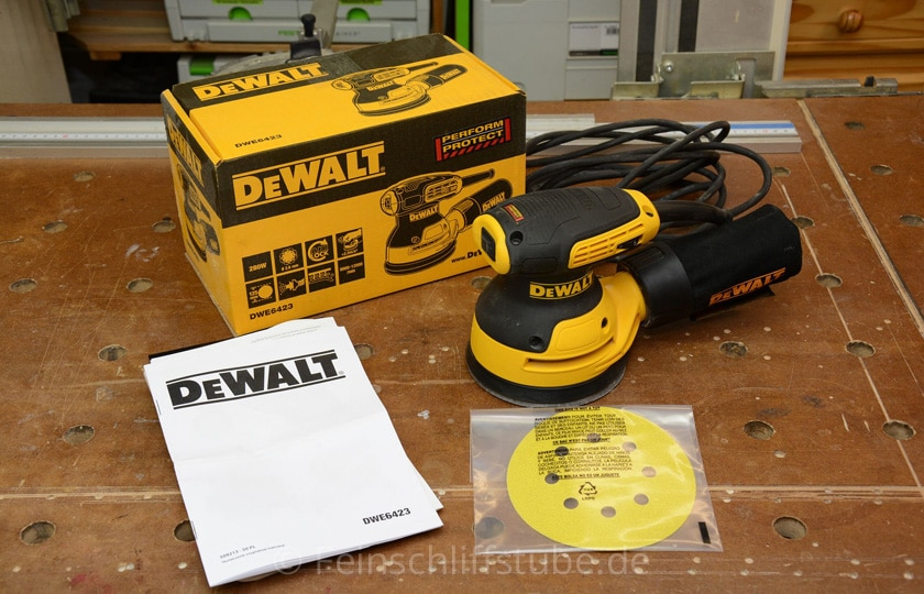 dewalt dwe6423 test 2019 f hrung abtrag vibrationen. Black Bedroom Furniture Sets. Home Design Ideas